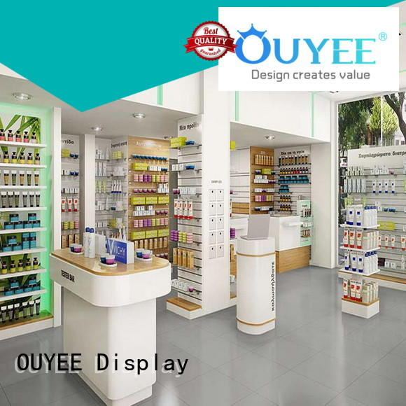 OUYEE top brand pharmacy cabinets and shelving bulk production for hospital