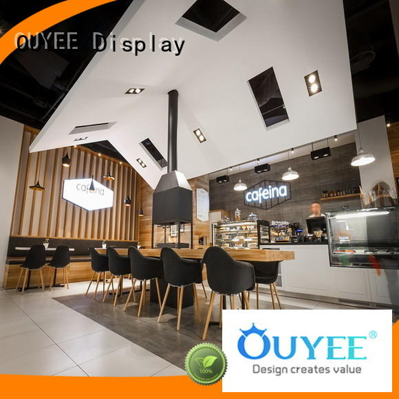 commercial coffee shop counter design at discount for furniture OUYEE