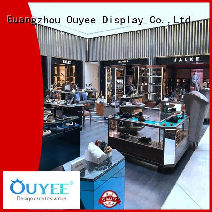 OUYEE one-stop slatwall displays at discount for business