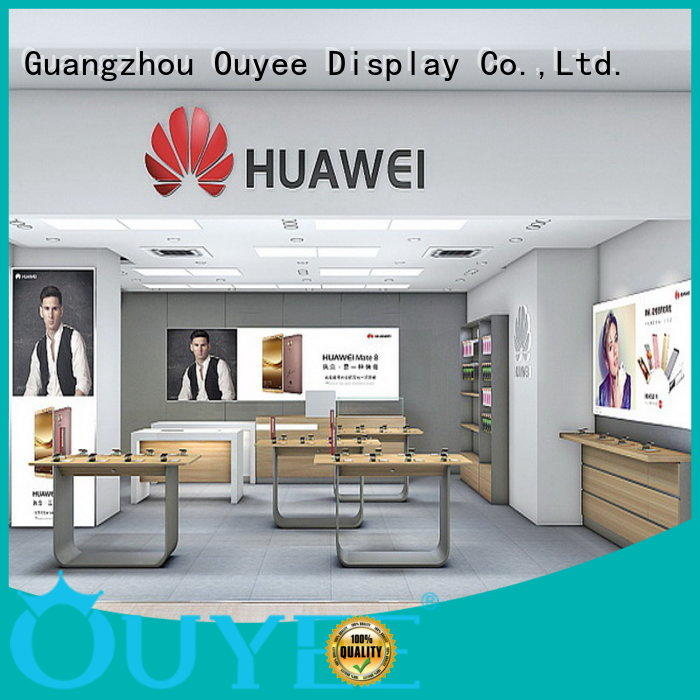 OUYEE Brand displays cabinet furniture electronic shop display