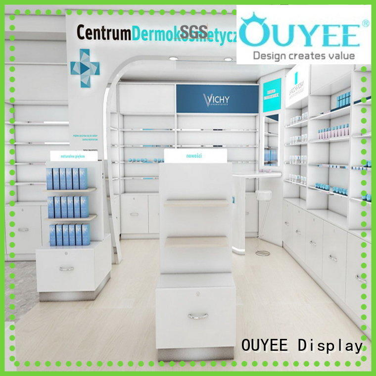 Wholesale drugstore sale pharmacy counter OUYEE Brand