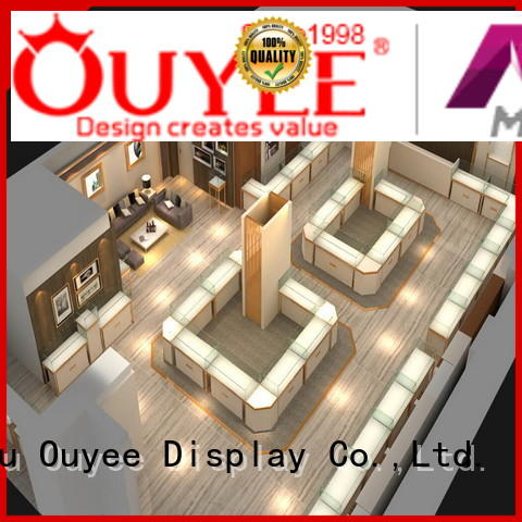 large jewellery jewellery shop design OUYEE Brand