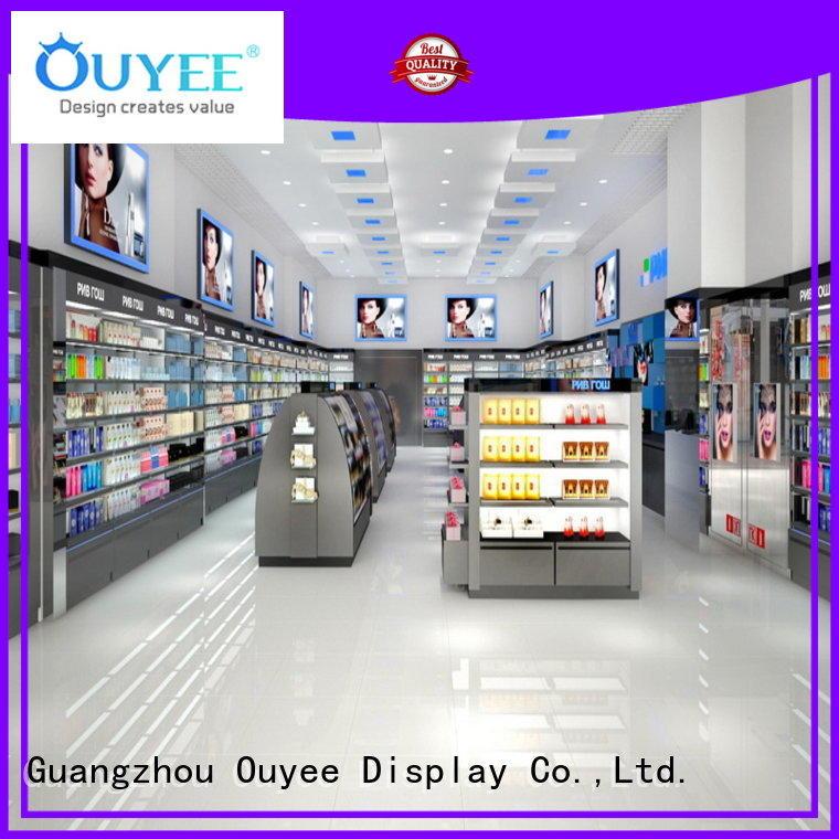 Hot furniture perfume rack stand kiosk OUYEE Brand