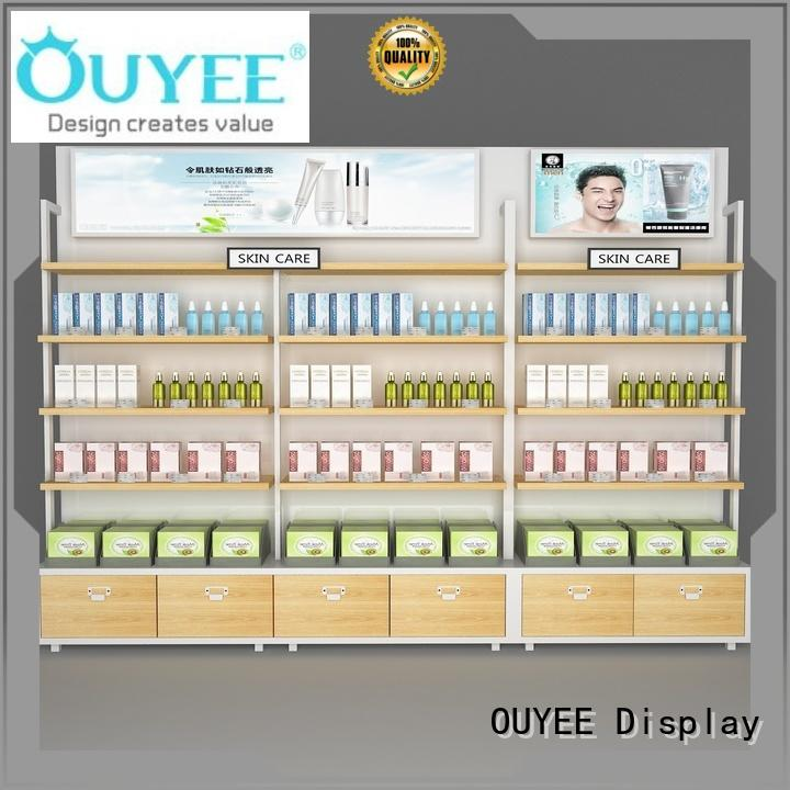 OUYEE Brand showroom stand kiosk beauty cosmetic shop