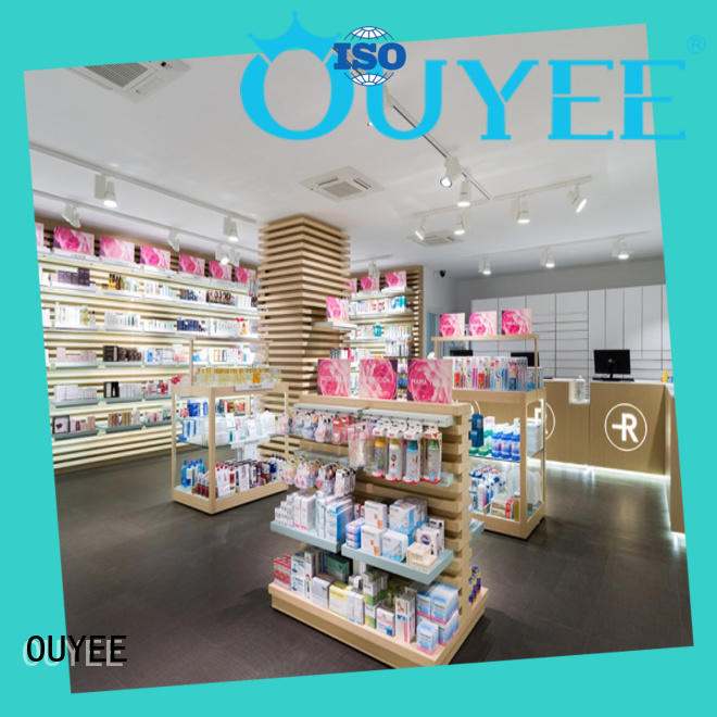 OUYEE commercial modern pharmacy design free delivery for shop