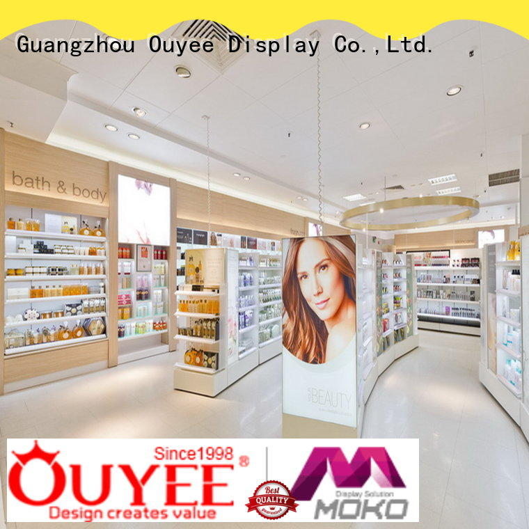 OUYEE custom cosmetic shop cheapest factory price for decoration