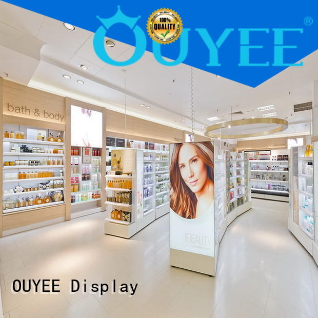 one-stop cosmetic store shelf top brand for decoration