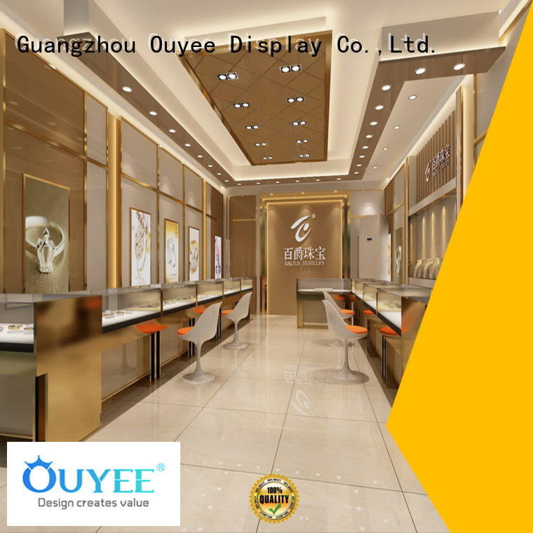 racks jewellery shop design supplies OUYEE company