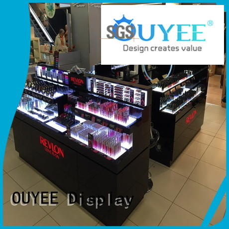 cosmetic display case beauty for wholesale OUYEE