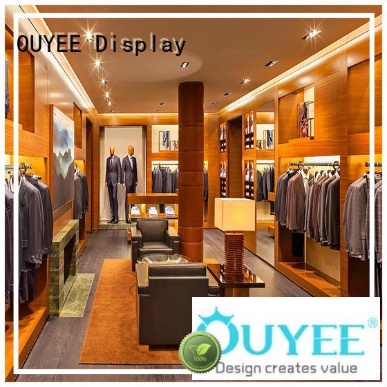Garments Shop Clothing Display Ideas OY-GSD013