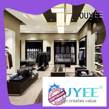 eye-catching commercial grade clothing rack high-end universalunderwear display