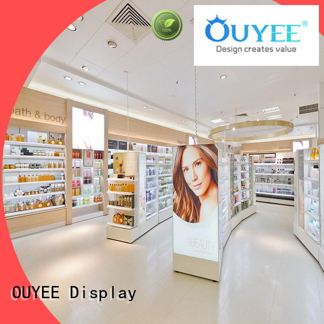 vanity cosmetic kiosk design beauty for decoration OUYEE
