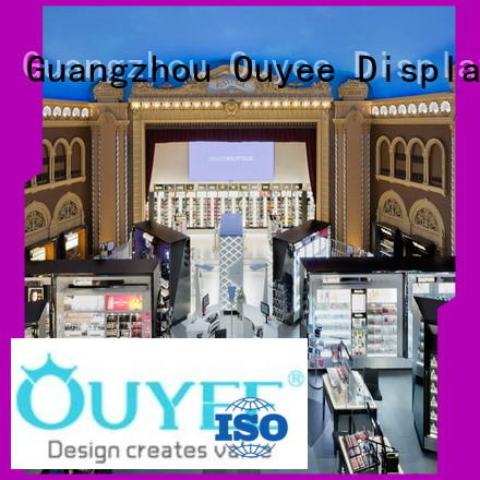 OUYEE custom cosmetic shop interior design top brand for decoration