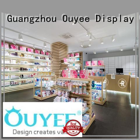 design retail medical OUYEE Brand pharmacy counter design factory
