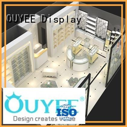 OUYEE Brand shop stands jewellery shop showcase design