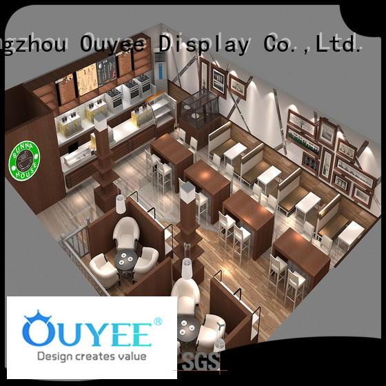 kiosk coffee shop coffee cafe sale OUYEE Brand company