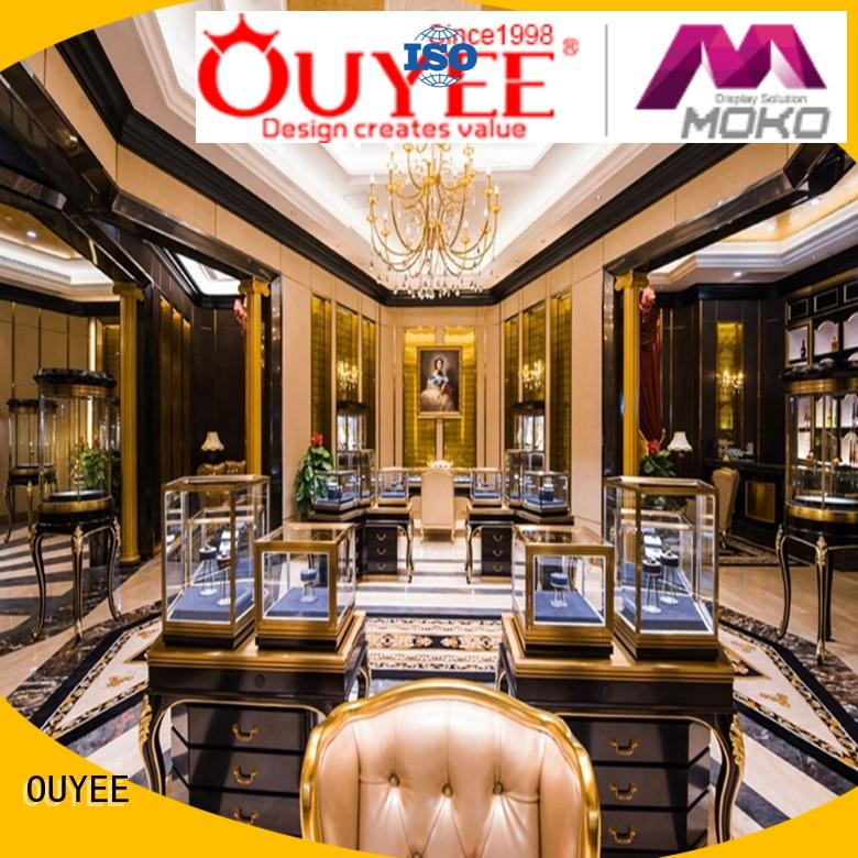 Wholesale table jewellery shop design OUYEE Brand