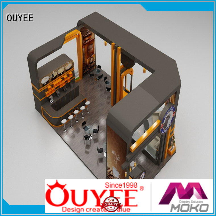 OUYEE eye-catching interior design ideas for cafe shop at discount for bar