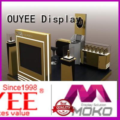 Wholesale shelf cabinet perfume stand OUYEE Brand