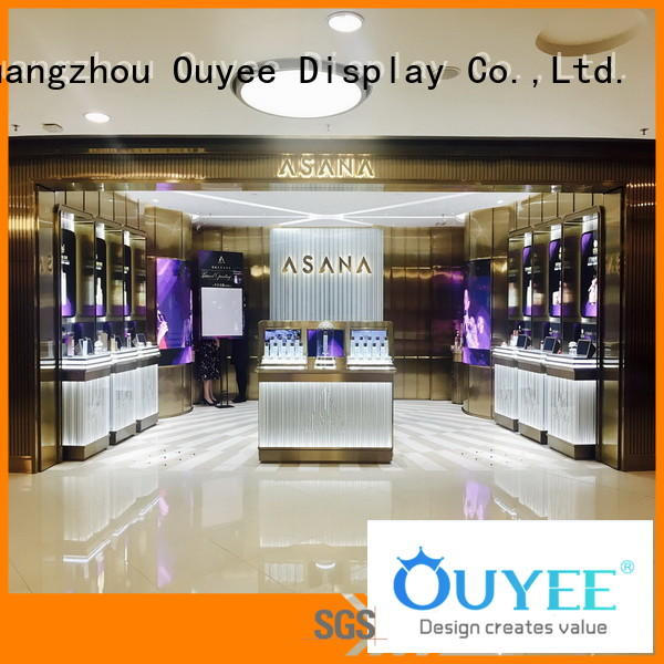 furniture cosmetic shop showroom stand OUYEE company