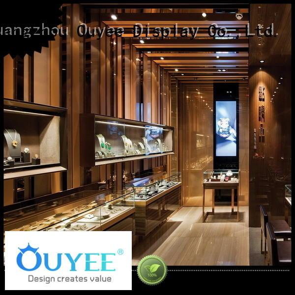 jewellery shop showcase design sale OUYEE Brand jewellery shop design