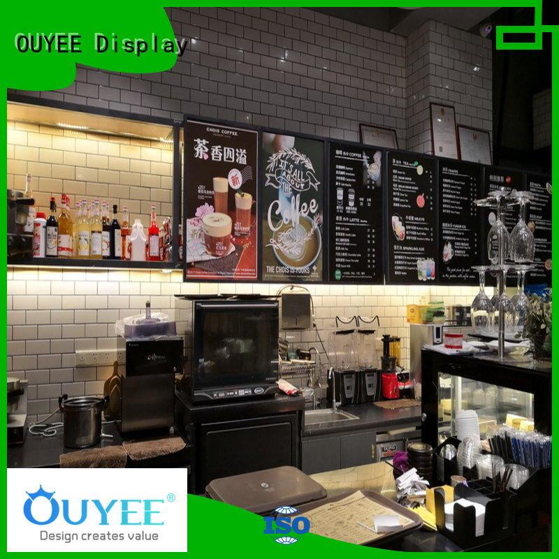 kiosk coffee shop station OUYEE Brand coffee shop design