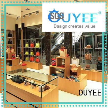 sale Custom shoes shoe wooden shoe rack designs OUYEE counter