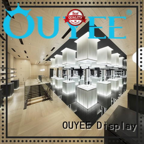 OUYEE beauty body oil display rack top brand for wholesale