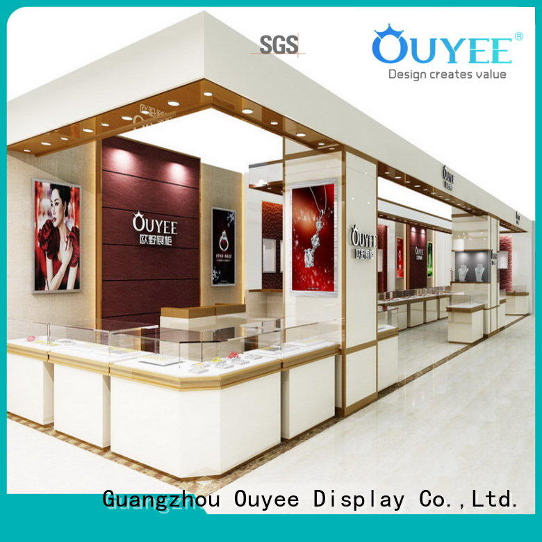 latest jewellery window display commercial for wholesale OUYEE