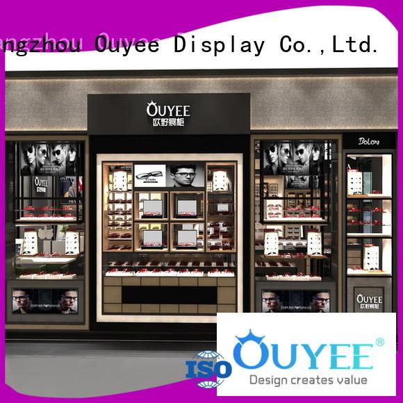 OUYEE Brand cabinet eyeglasses custom eyeglass display stand