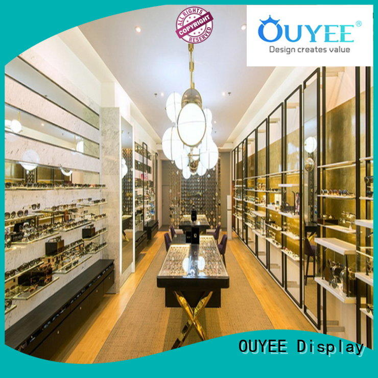 OUYEE Brand units glasses stand optical displays