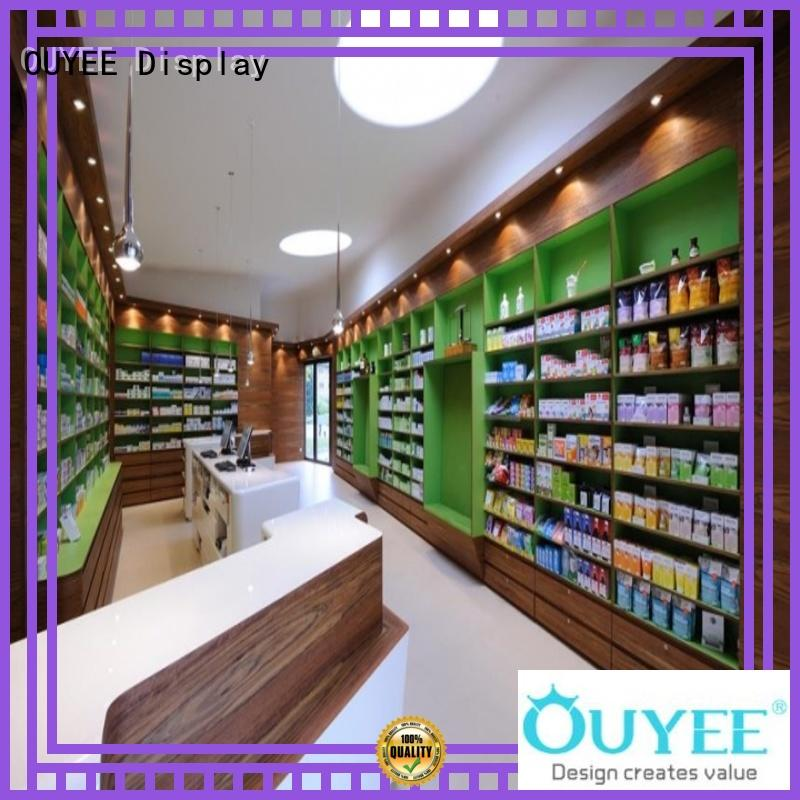 high-quality pharmacy shelving units free delivery for store OUYEE