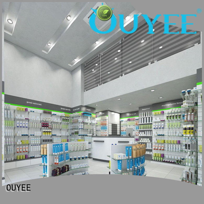 top brand medicine display racks fast delivery for medicine OUYEE