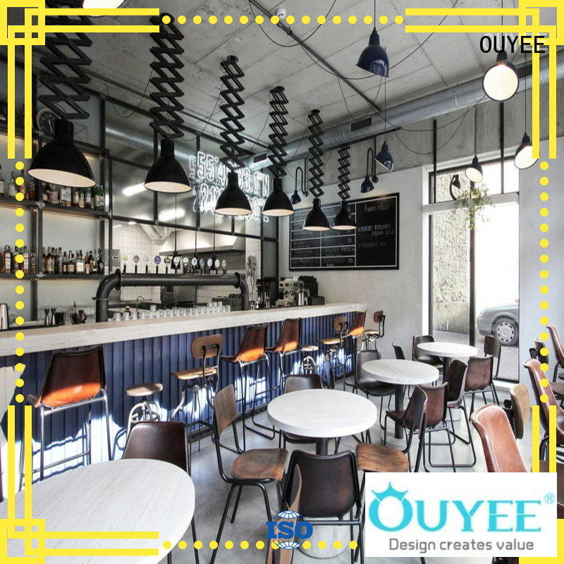 OUYEE commercial cafe counter bulk production for furniture