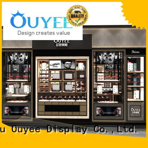 popular eyeglass display stand at discount for chain shop