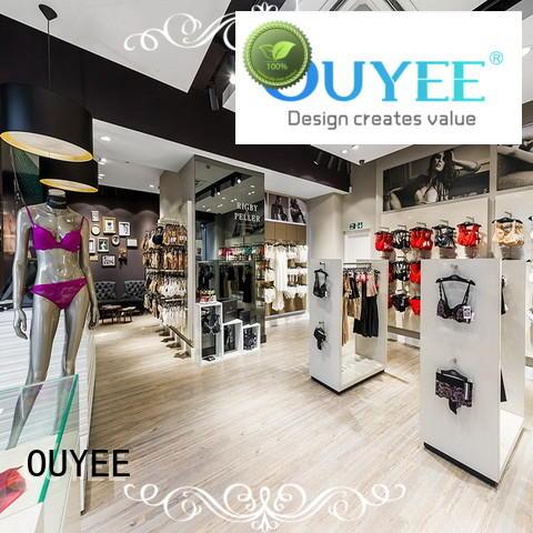 OUYEE Brand shop clothing shelves ideas factory