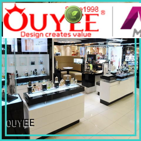 OUYEE Brand newest retail decoration display cosmetic shop