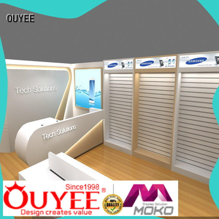 OUYEE wooden mobile counter bulk production for decoration