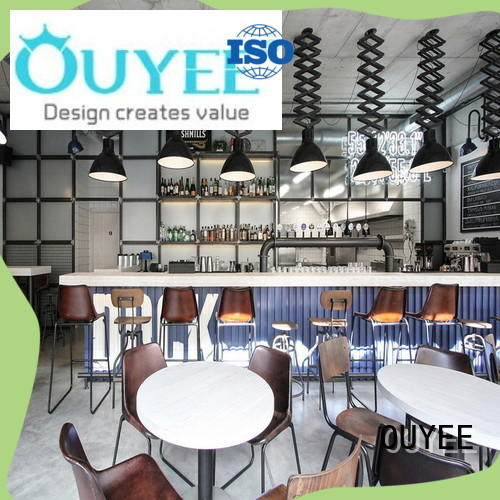 OUYEE popular cafe restaurant design on-sale for club