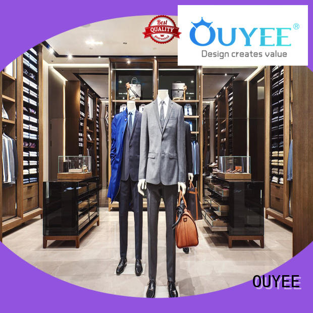 OUYEE popular cloth shop furniture design cheapest price for show room
