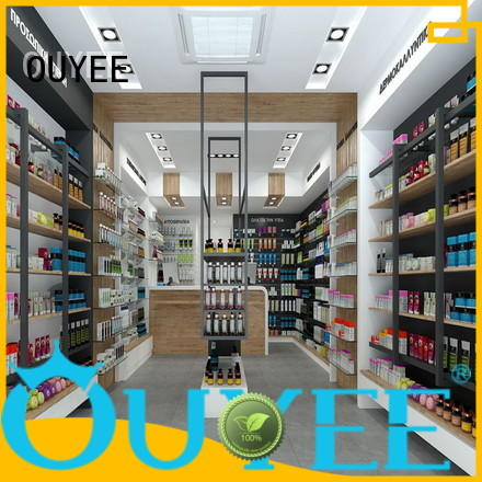 retail pharmacy counter design sale shop OUYEE Brand