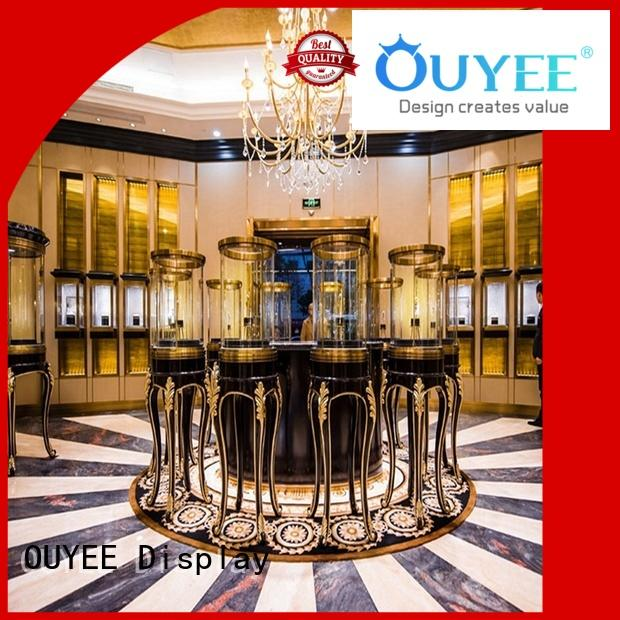 Quality OUYEE Brand jewellery shop showcase design counter