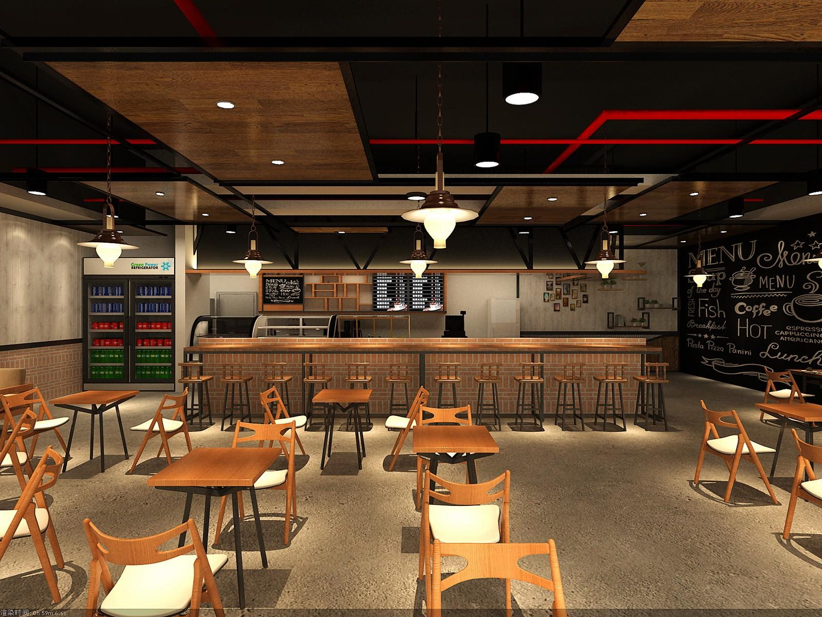 OUYEE cafe shop interior design on-sale for club-2