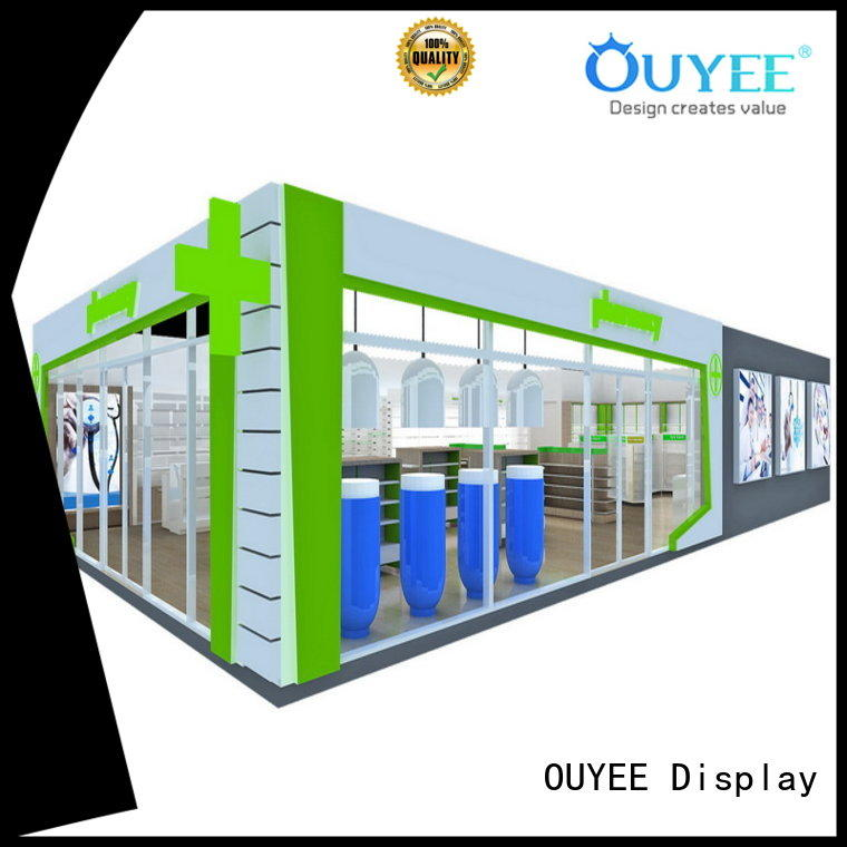 newest retail pharmacy shelving top brand for medicine OUYEE