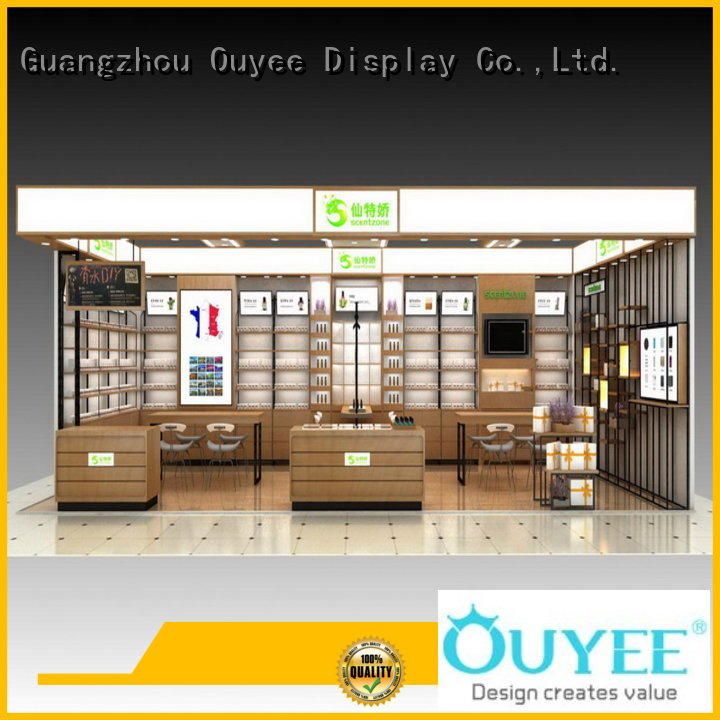 OUYEE one-stop cosmetics shop furniture newest for decoration