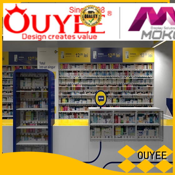 OUYEE at discount pharmacy interior fast installation for store