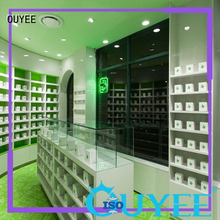 OUYEE top selling retail shelving bulk production for display