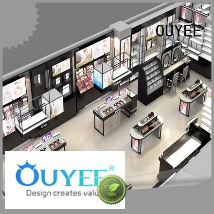 display kiosk counter furnitures makeup retail display OUYEE Brand