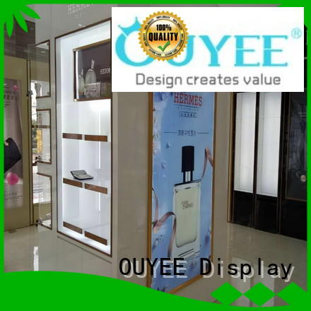 chic design perfume collection display bulk production for decoration OUYEE