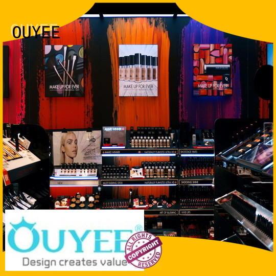 Custom design decoration cosmetic shop OUYEE makeup
